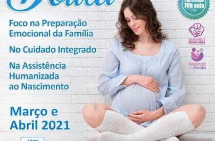 Curso de Capacitação para Doula Mar/Abr 2021